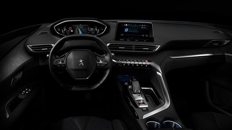 Peugeotov i-Cockpit nove generacije z dvema velikima zaslonoma in izboljšanim volanskim obročem (foto: PSA)
