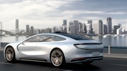 Avtonomni električni avtomobil s Kitajske