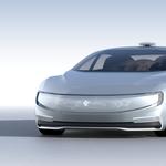 Avtonomni električni avtomobil s Kitajske (foto: LeEco)