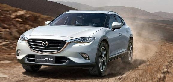 Mazda CX-4 za kitajski trg