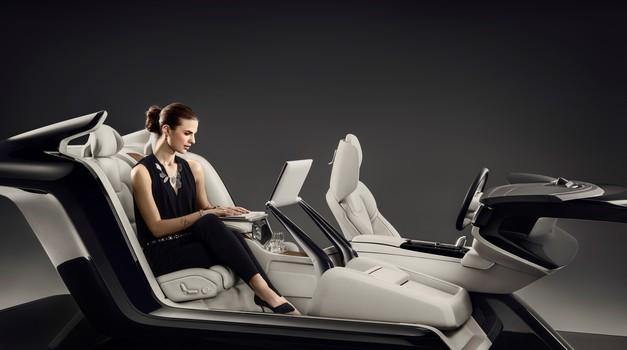 Volvova potniška kabina za razvajanje (foto: Volvo)