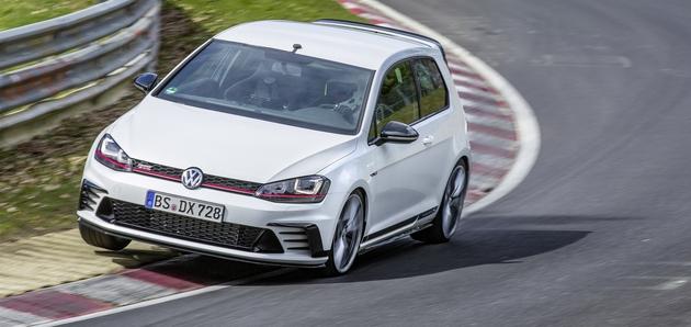 Volkswagen Golf GTI Clubsport S rekorden na Nürburgringu