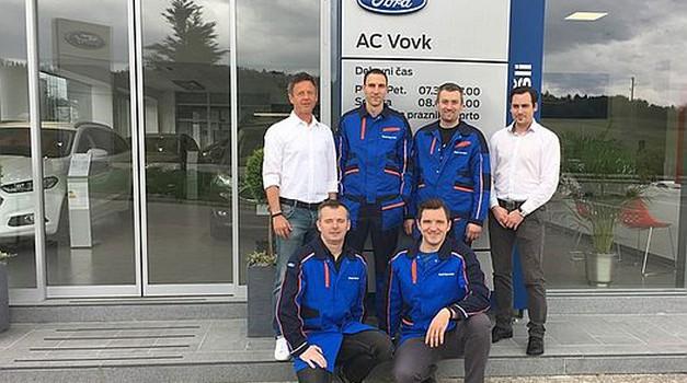 Fordov novi partner v Novem mestu je AC Vovk (foto: Ford)