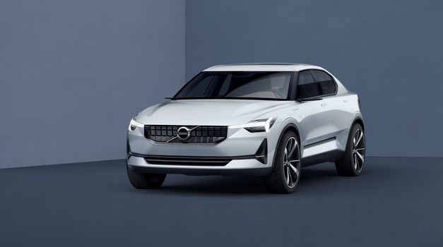 Volvo 40.1 in 40.2 kot napoved drzne prihodnosti švedske znamke (foto: Volvo)