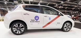 Madrid bo dobil največjo floto električni taksijev Nissan Leaf