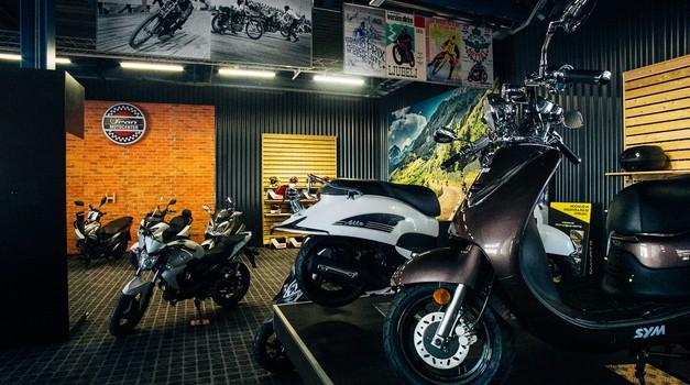 Špan odpira sodoben motocenter (foto: Špan)