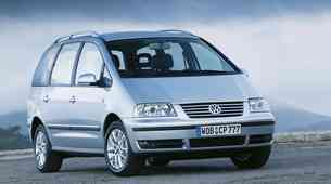 Rabljen avto: Volkswagen Sharan (1995‒2010): Trije za sedem