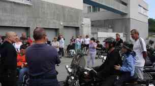 S Harley-Davidsonih po Kamniku