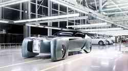 Vizija avtomobilskega razkošja prihodnosti