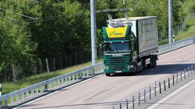 Na Švedskem odpirajo električno avtocesto (foto: Region Gavleborg)