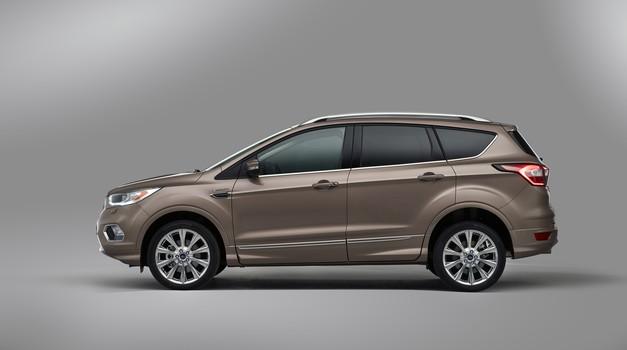 Serijski Ford Kuga Vignale (foto: Ford)