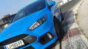 Čas na Racelandu: Ford Focus RS izvrstno!