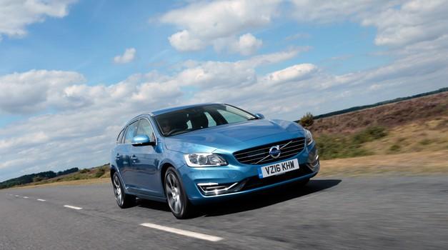 Volvo je predstavil šibkejšo različico priključno hibridnega Volva V60 (foto: Volvo)