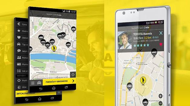 HOPIN TAXI – aplikacija za naročanje taksijev (foto: HOPIN TAXI)