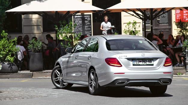 Mercedes-Benz E 220 d AMG Line (foto: Saša Kapetanovič)