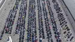 Več kot 1.600 Smartov  na paradi v Hamburgu