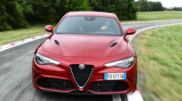 Giulia Quadrifoglio je izboljšala rekord na Nürburgringu (foto: Alfa Romeo)