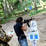 Društvo za taktične igre je postavilo taktično progo za streljanje z airsoft orožjem. (foto: Saša Kapetanovič)