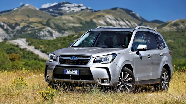 Subaru Forester 2.0 D CVT Sport Unlimited (foto: Saša Kapetanovič)