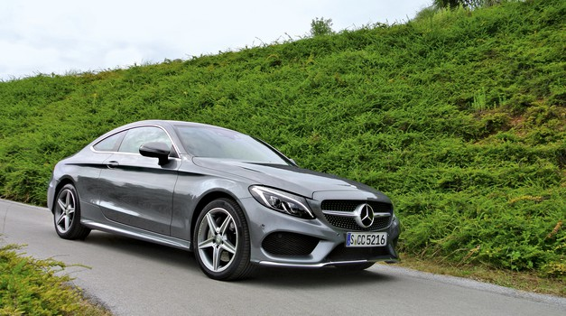 Mercedes-Benz C250d Coupé AMG Line (foto: Sebastjan Plevnjak)