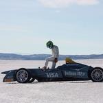 Vožnja z električnim dirkalnikom po polarnem ledu (foto: FIA Formula E)