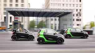 Električni Smart prihaja v treh različicah