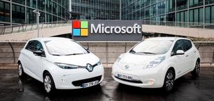 Renault-Nissan in Microsoft  bosta sodelovala