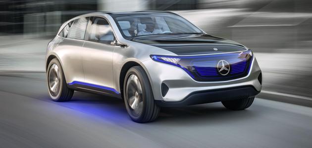 Mercedes-Benz električno z Generation EQ