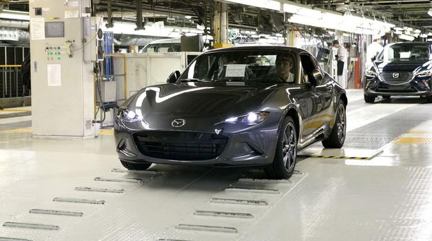 Mazda je zagnala proizvodnjo nove Mazde MX-5 RF (foto: Mazda)
