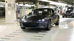 Mazda je zagnala proizvodnjo nove Mazde MX-5 RF