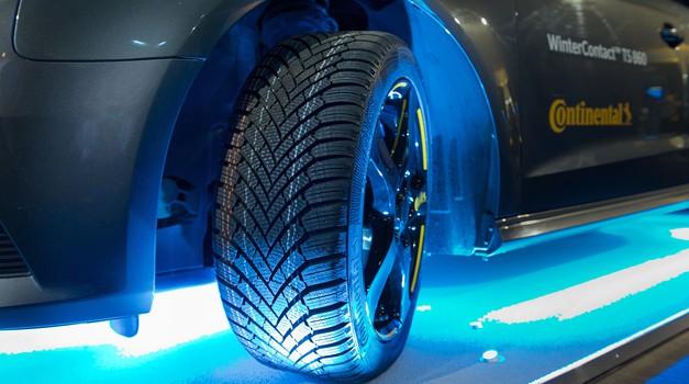 WinterContact TS860 že zmaguje na testih zimskih pnevmatik (foto: Continental)