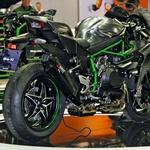 Kawasaki H2R Carbon (foto: Peter Kavčič)