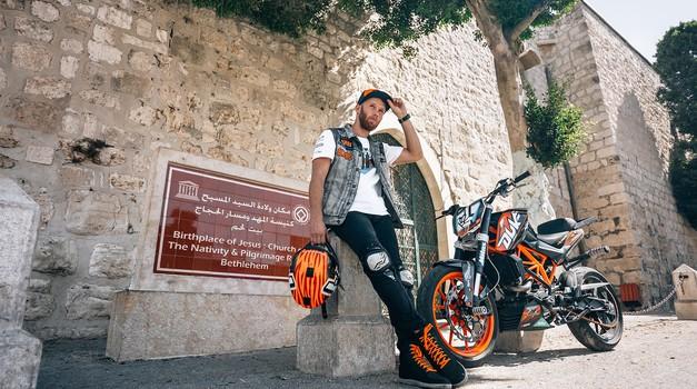 Rok Bagoroš prvi 'stunter' v Palestini