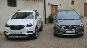 Novo v Sloveniji: Opel Mokka X in Zafira
