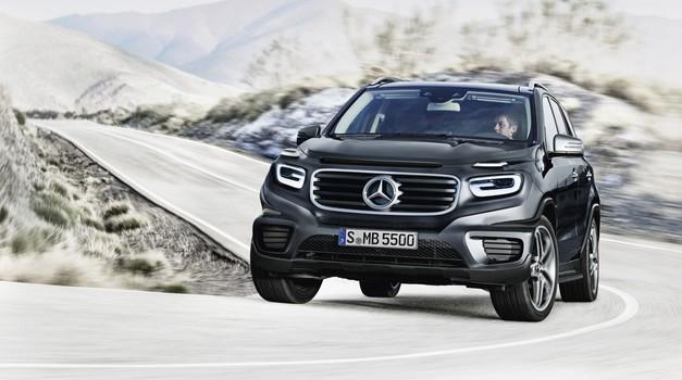 Razkrivamo: Mercedes-Benz GLB (foto: Bojan Perko)