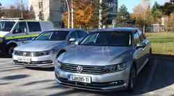 Policija je prevzela nove avtomobile in motocikle; med njimi tudi nove Provide