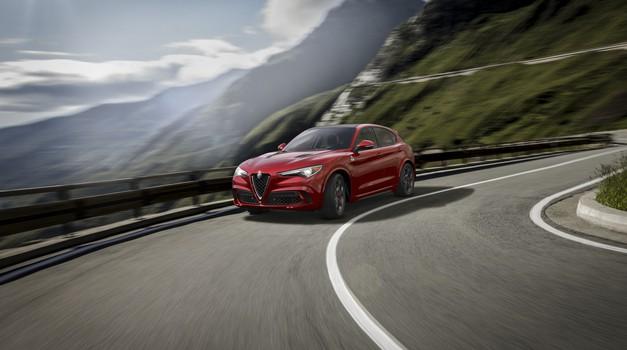 Alfa Romeo Stelvio je speljala (foto: Alfa Romeo)
