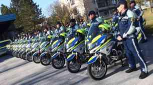 Policisti vabijo. To je seznam dogodkov za motoriste.