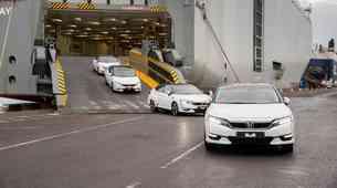 Vendarle: Honda Clarity Fuel Cell prihaja v Evropo