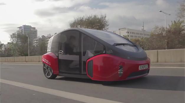 Je to prihodnost vožnje z avtomobili? (foto: Rinspeed @ YouTube)