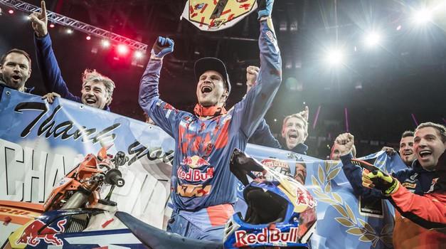 Blazusiak je končal kariero. Z zmago. Pred 13.000 Poljaki! (foto: Marcin Kin / KTM Media Library)