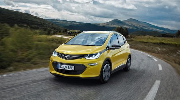 Opel Ampera-e gre v prodajo na Norveškem (foto: GM)