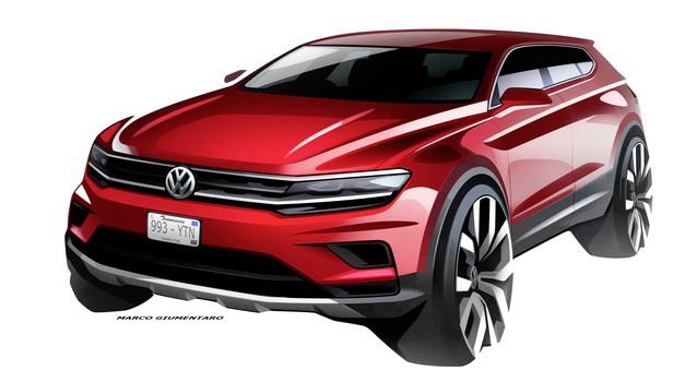 V Detroit prihaja podaljšani Volkswagen Tiguan (foto: Volkswagen)