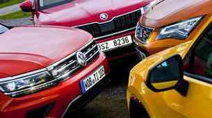 Volkswagnov 'quattro': Audi Q2, Seat Ateca, Škoda Kodiaq in VW Tiguan. Kaj jih druži, kaj ločuje?