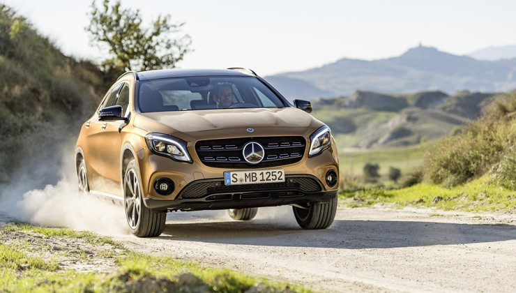 Mercedes-Benz GLA je osvežen