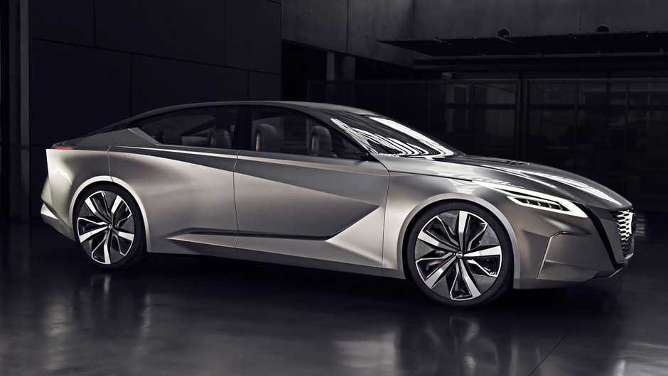 Nissan napoveduje svojo limuzino prihodnosti