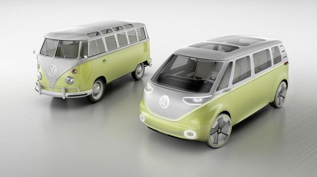 Potrjeno: Volkswagen bo izdeloval električnega Bullija (foto: Volkswagen)