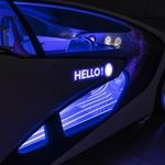 Toyota je z inteligentnim konceptom prikazala prihodnost komunikacije med voznikom in avtomobilom (foto: Toyota)