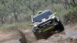 Fiat Panda premagala Dakar