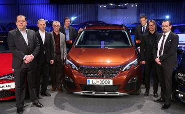 Peugeot 3008 je Slovenski avto leta 2017!